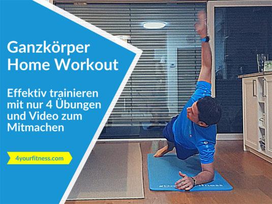 Home Workout, Titelbild, Blogartikel