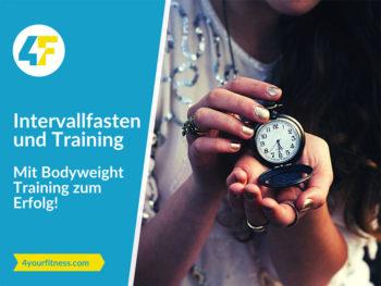 Titelbild Intervallfasten und Training