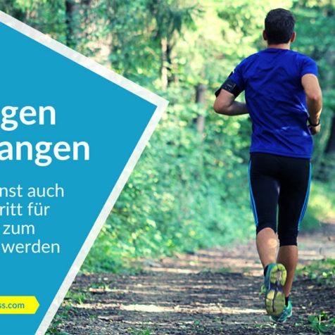 Joggen anfangen: So kannst auch du Schritt für Schritt zum Läufer werden