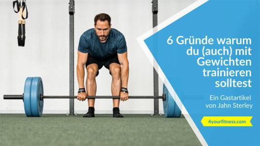 Mit Gewichten trainieren Titelbild