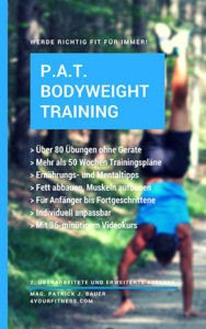 Cover E-Book Darstellung Bodyweight Training