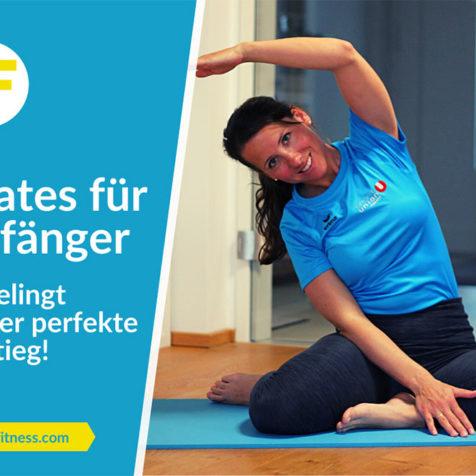 Pilates für Anfänger: So gelingt dir der perfekte Einstieg!