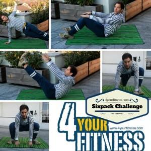 Sixpack Challenge - schnell und einfach Bauchmuskeln aufbauen