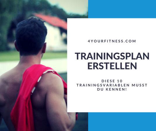 Titelbild Trainingsplan erstellen