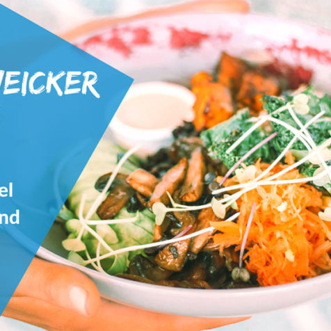 Anti-Weicker Veggie: Gesunde Lebensmittel erkennen und essen!