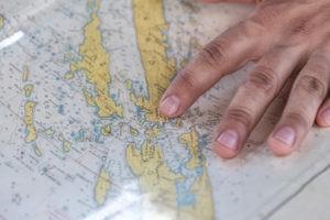 Wo soll es hingehen? Ein Trainingsplan ist wie eine Karte mit eingezeichneter Route, die dir dabei hilft, dein Ziel zu erreichen.