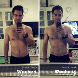 Meine Transformation mit dem Freeletics Coach - ich bin zufrieden :-)