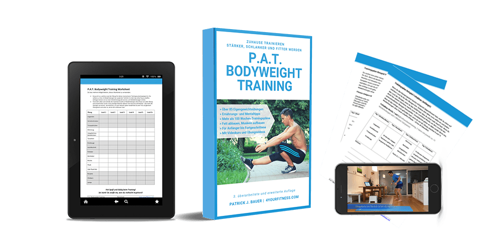 Cover, P.A.T. Bodyweight Training
