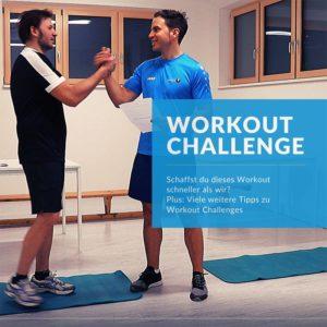 Workout Challenge: Schaffst du dieses HIIT Workout schneller als wir?