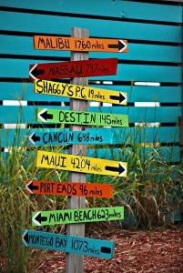 Ziele sind wie Wegweiser, die dir die Richtung vorgeben.
