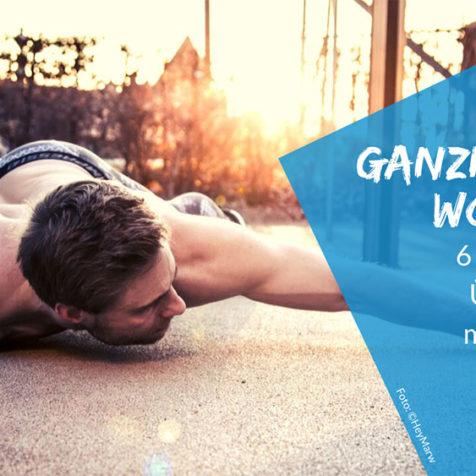 Ganzkörper Workout: 6 dynamische Übungen für mehr Kraft & Ausdauer