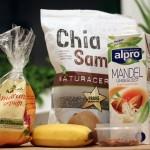 Chia Samen Powerfrühstück - die Zutaten
